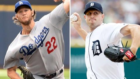 2013: Clayton Kershaw, Dodgers & Max Scherzer, Tigers