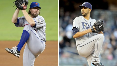 2012: R.A. Dickey, Mets & David Price, Rays