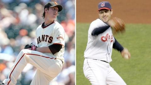 2008: Tim Lincecum, Giants & Cliff Lee, Indians