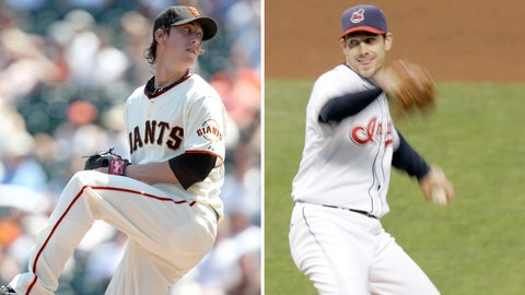 2008: Tim Lincecum, Giants & Cliff Lee, Indians