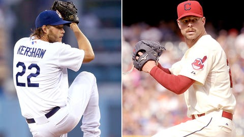 2014: Clayton Kershaw, Dodgers & Corey Kluber, Indians