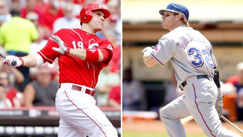 2010: Joey Votto, Reds & Josh Hamilton, Rangers
