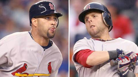 2008: Albert Pujols, Cardinals & Dustin Pedroia, Red Sox