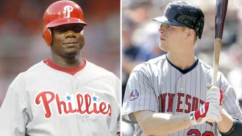 2006: Ryan Howard, Phillies & Justin Morneau, Twins