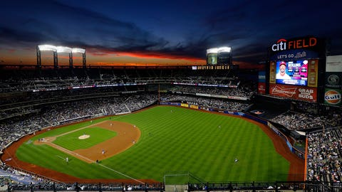 Citi Field's right-field fence was moved in