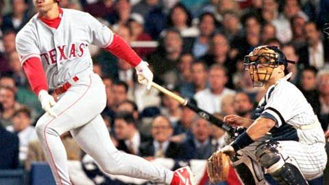 Texas Rangers: 1. Juan Gonzalez — 372 HRs