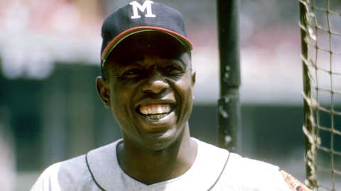 Atlanta Braves: 1. Hank Aaron — 733 HRs