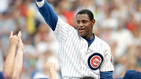 Chicago Cubs: 1. Sammy Sosa — 545 HRs