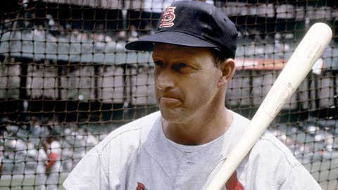 St. Louis Cardinals: 1. Stan Musial — 475 HRs