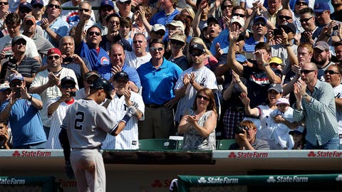 May 21 at Chicago Cubs: 1 for 7, 1 K