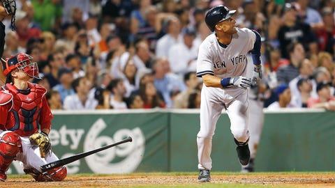 Aug. 1 at Boston: 1 for 4, 1 HR, 1 R, 1 RBI, 1 K