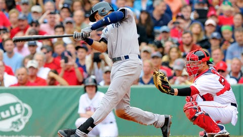 Aug. 2 at Boston: 2 for 5, 1 R, 2 RBI
