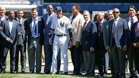 Derek Jeter Day, Yankee Stadium: Sept. 7