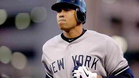 Alex Rodriguez, DH, New York Yankees