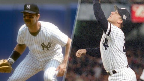 1996: Don Mattingly is replaced by Tino Martinez