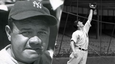 1935: Babe Ruth is replaced by George Selkirk