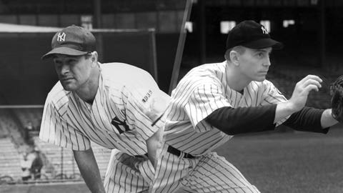1939: Lou Gehrig is replaced by Babe Dahlgren