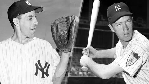 1956: Phil Rizzuto is replaced by Gil McDougald