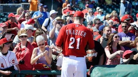Todd Frazier, 3B, Reds (Goodyear, Ariz.)
