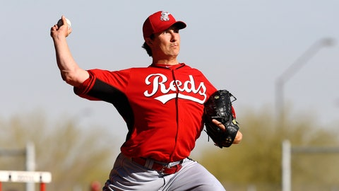 Homer Bailey, P, Reds (Goodyear, Ariz.)
