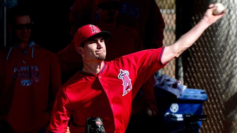 Andrew Heaney — Los Angeles Angels