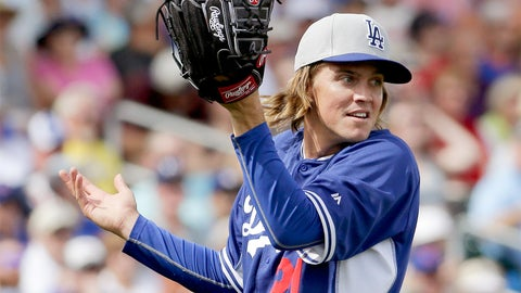 5. Zack Greinke, SP, Los Angeles Dodgers (8-2, 1.39 ERA, 106 K, 0.84 WHIP)