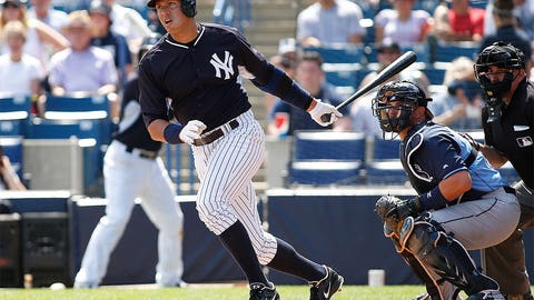 Alex Rodriguez, DH, Yankees
