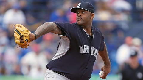 CC Sabathia, P, Yankees