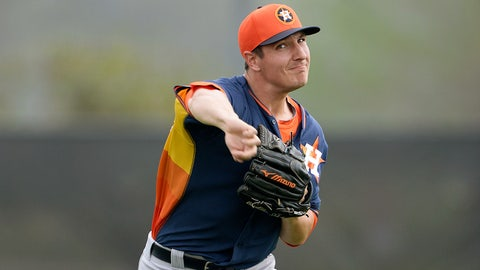 Asher Wojciechowski — Houston Astros