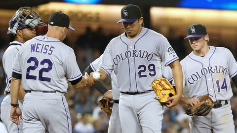 Colorado Rockies: 1. Headline starters