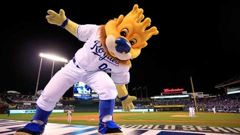 Kansas City Royals: Sluggerrr