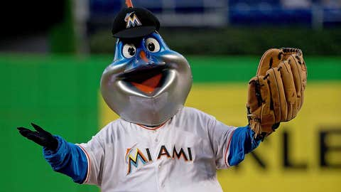 Miami Marlins: Billy the Marlin