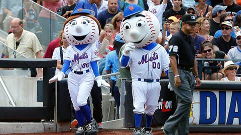 New York Mets: Mr. and Mrs. Met