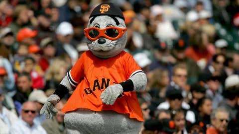 San Francisco Giants: Lou Seal