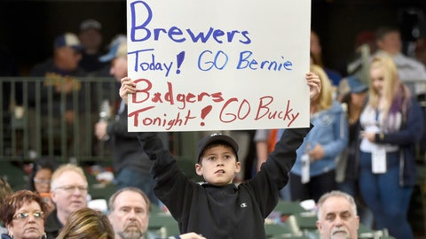Rockies at Brewers
