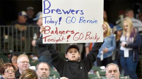 Rockies at Brewers