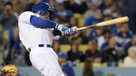 14. Adrian Gonzalez, 1B, Los Angeles Dodgers (.283, 18 HR, 55 RBI)