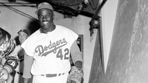 Jackie Robinson: Brooklyn Dodgers (1947-1956)