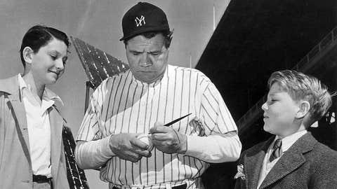 8. He was baseball's first true star