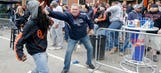 Violent protesters terrorize fans outside Camden Yards