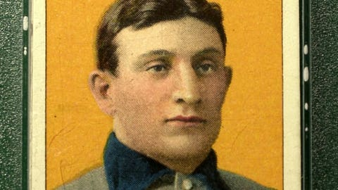 1909 Honus Wagner baseball card: $2.8 million