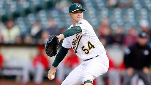 7. Sonny Gray, SP, Oakland A's (10-3, 2.04 ERA, 108 SO, 123.2 IP; Two-hit CGSO heading into the break)