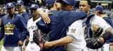 Brewers' Rodriguez continues to climb leaderboards
