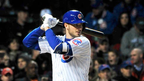 7. Kris Bryant, 3B, Chicago Cubs (.269, 12 HR, 14 2B, 51 RBI)