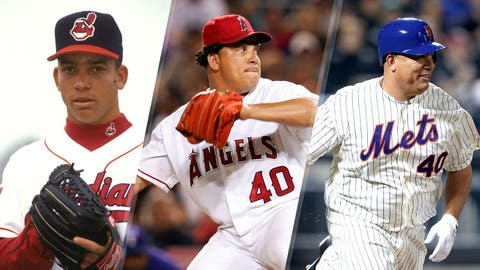 Bartolo Colon during nearly two decades in MLB