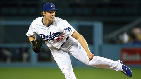 11. Clayton Kershaw, SP, Los Angeles Dodgers (6-6, 2.85 ERA, 160 SO, 1.02 WHIP)