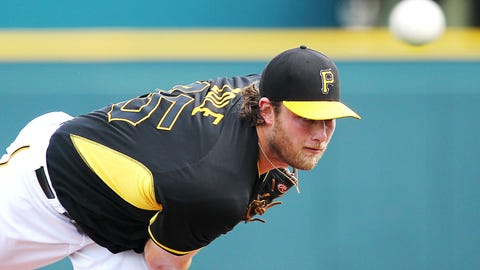 10. Gerrit Cole, SP, Pittsburgh Pirates (13-3, 2.30 ERA, 116 SO, 1.12 WHIP)