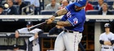 Fielder hits 2 homers, Rangers top Yankees for 3rd win in row