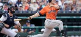 Tucker's pinch-hit heroics land him in Astros' record books