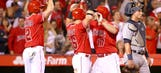 Iannetta's slam helps Wilson, Angels cruise past Tigers
